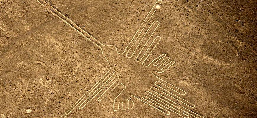Líneas de Nazca-Colibrí