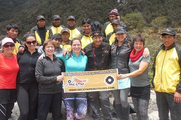 Permisos y espacio para el Camino Inca