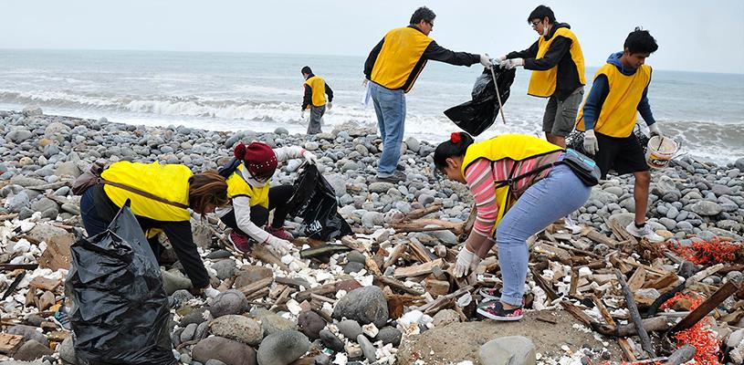 La basura acumulada es una de las principales fuentes de contaminación en el país.