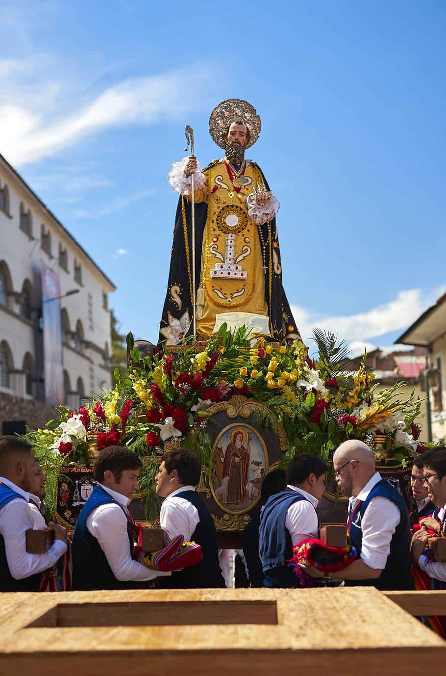 San Antonio, primer santo en llegar para el Corpus Christi cusqueño