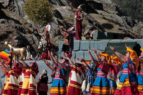 Inti Raymi, festival of the Sun in Cusco