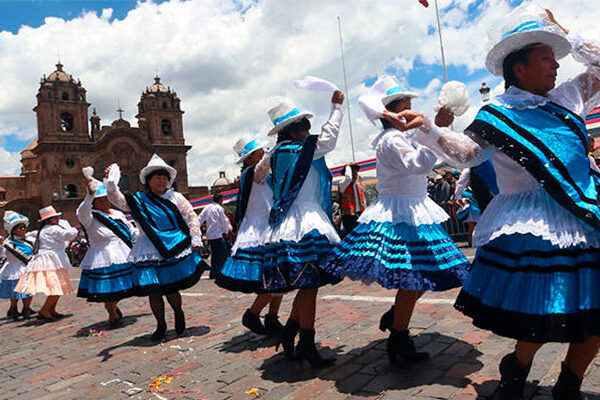 Cusco Carnival, a Traditional Dance